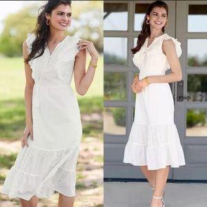 Matilda Jane NWT cream Joanna Gaines line Dress